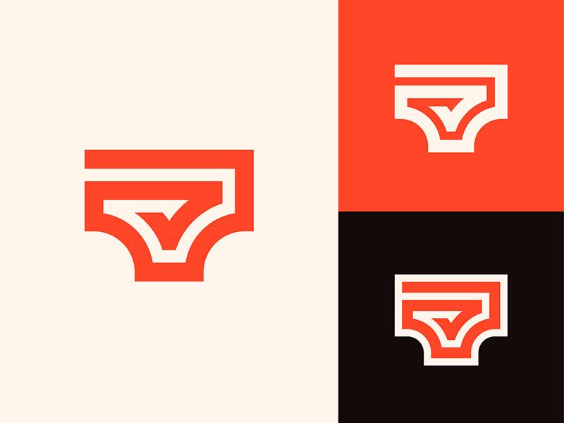 亲密贴身!20款内衣元素Logo设计