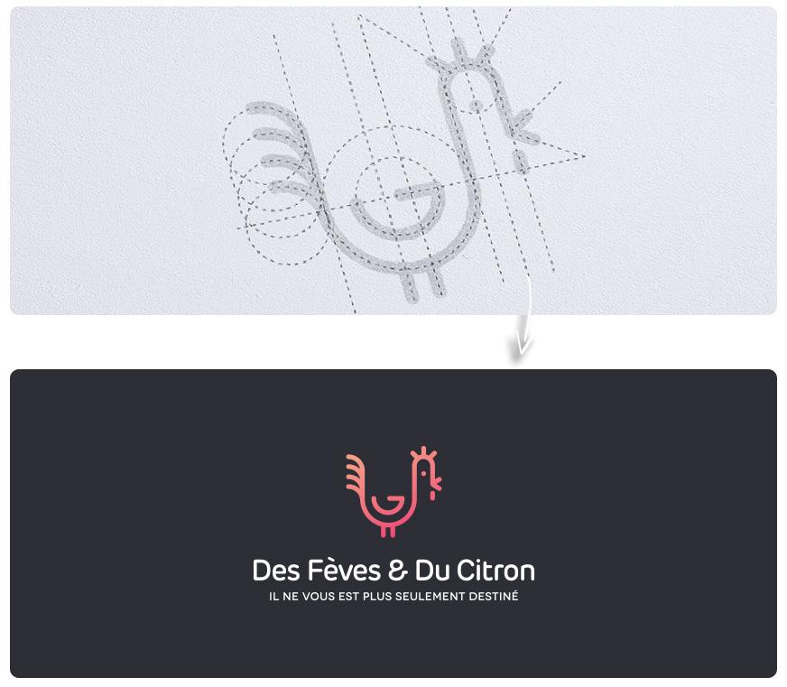 灵魂辅助线!12款网格系统Logo设计