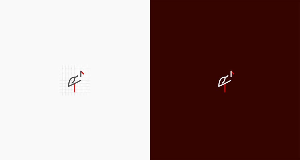 网格图形!24款时尚色彩Logo设计