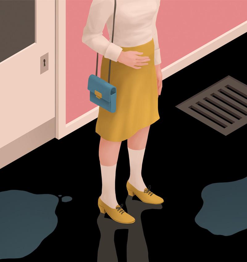 9款女性题材书本插图
