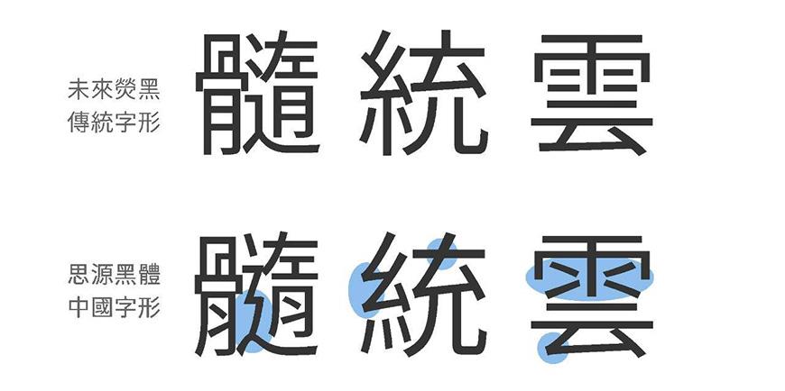 免费字体下载!包含9种字重的可商用中文黑体-未来荧黑