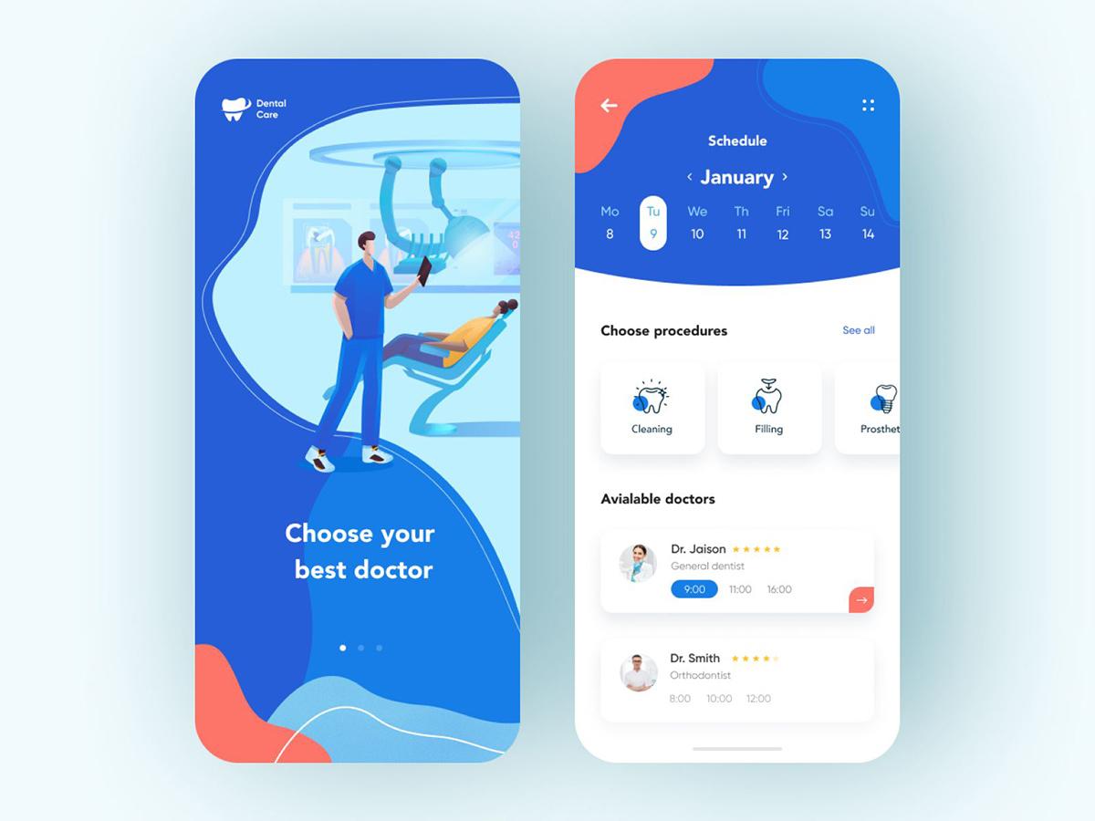 专业又贴心!12组医疗类App页面设计灵感