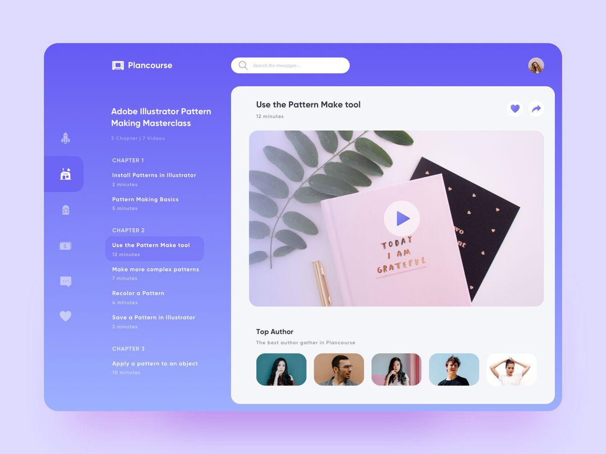 12组在线教育类网页设计