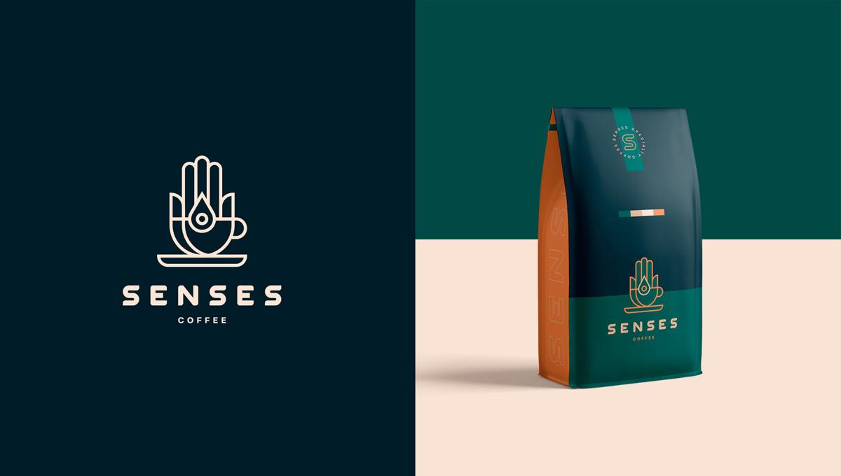 和谐度!咖啡品牌VI设计