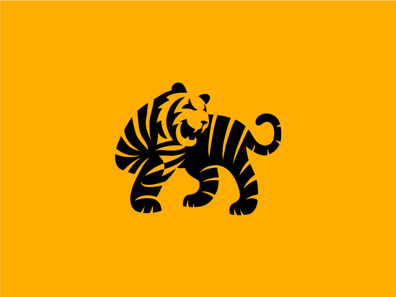 商用案例!20款趣味动物Logo设计