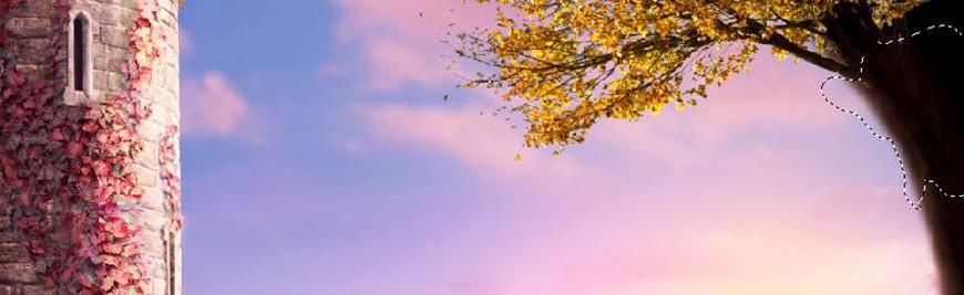 PS教程!教你合成超美意境的秋季场景(含素材下载)