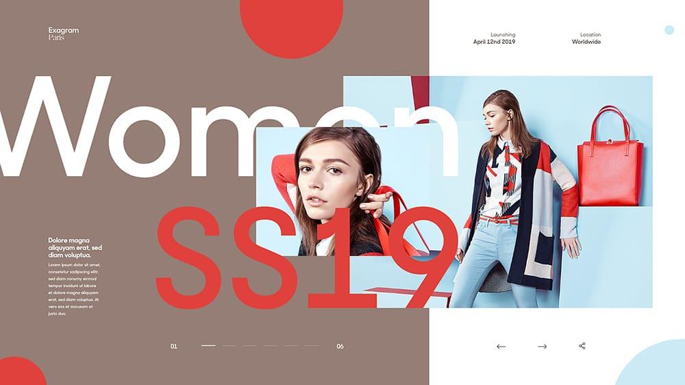 洛可可风格服装秀_经典!18个创意Banner头图设计 - 优优教程网 - UiiiUiii.com