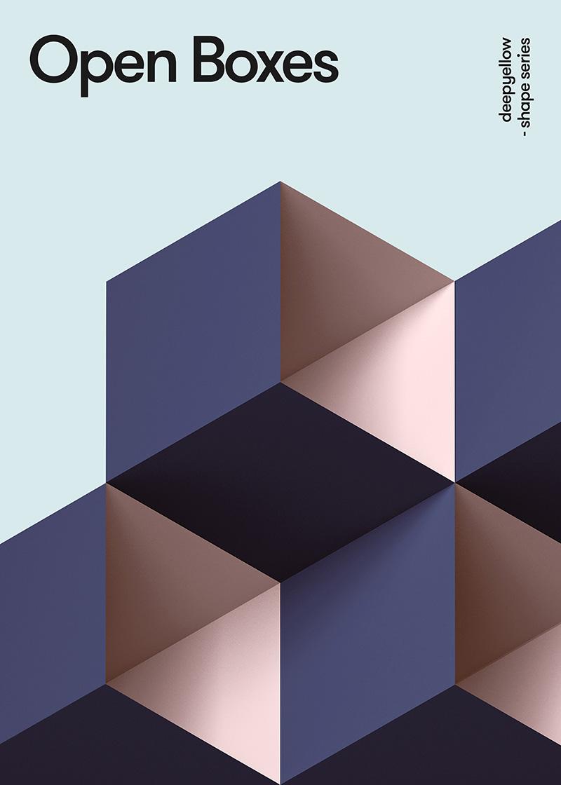 有意思!18种立体几何视觉表现形式