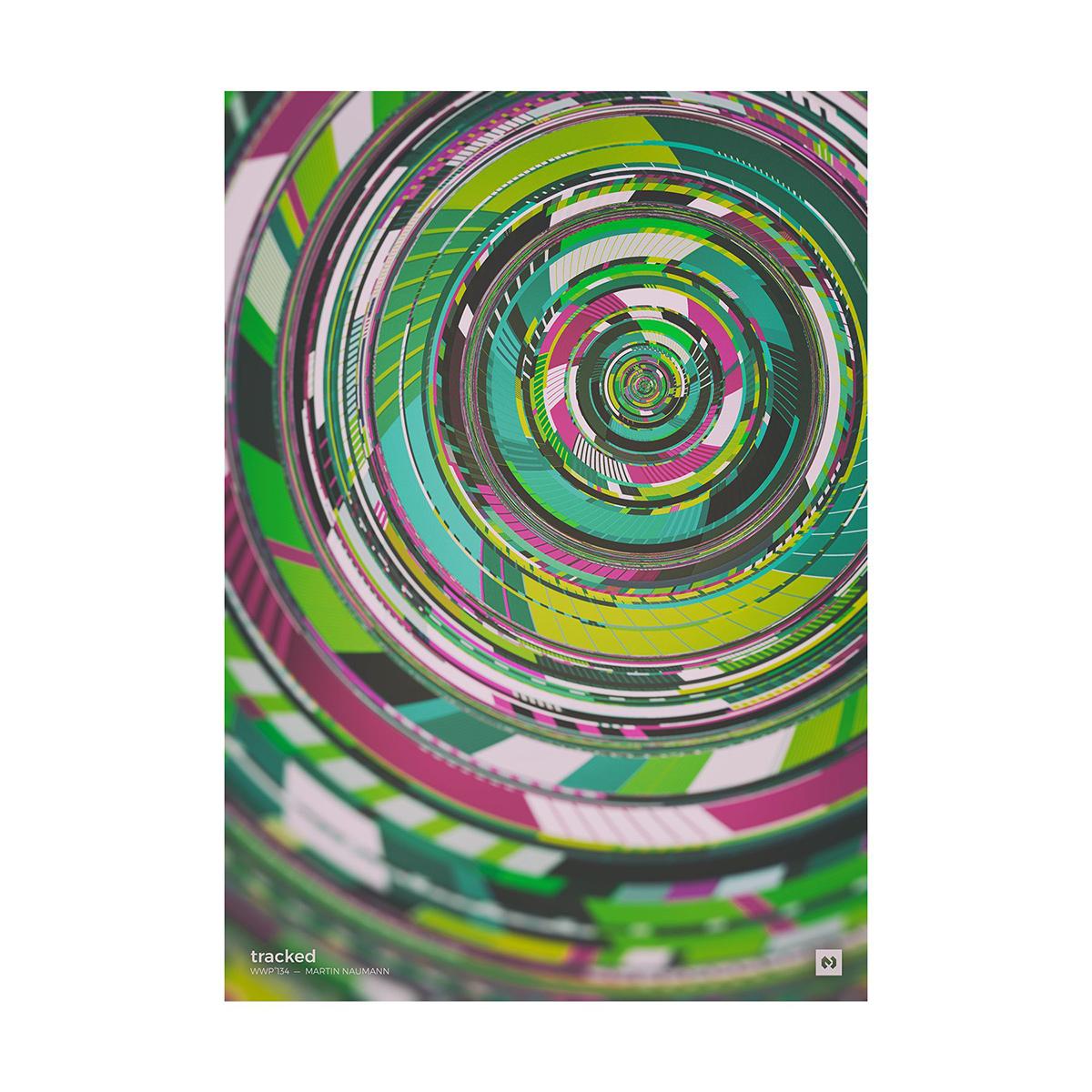 色彩的世界!12款创意形状海报设计