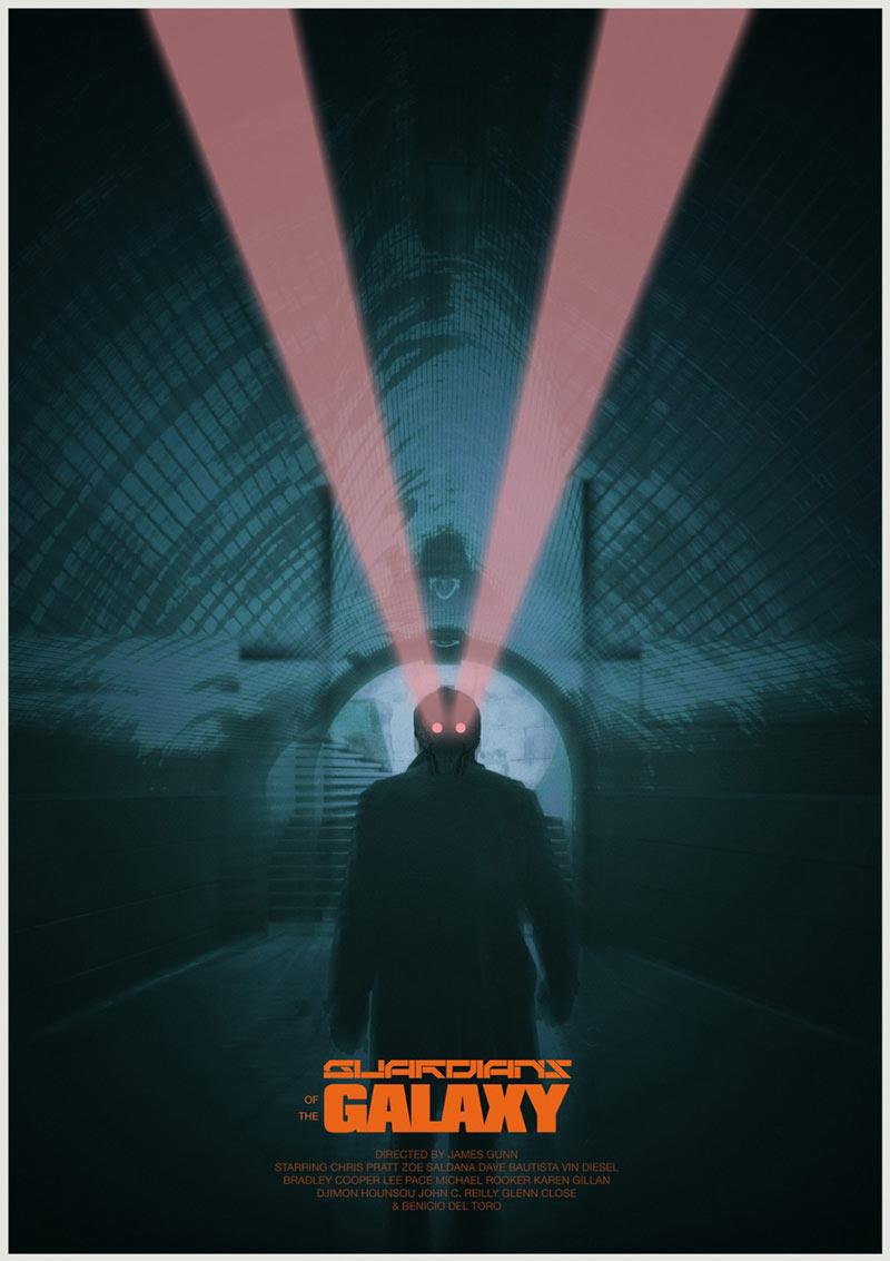 16款Pete Majarich电影海报设计