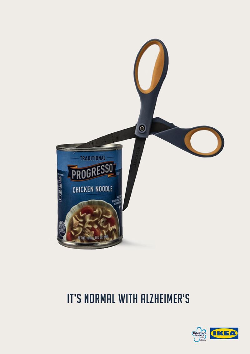 简约之美!宜家创意广告海报设计