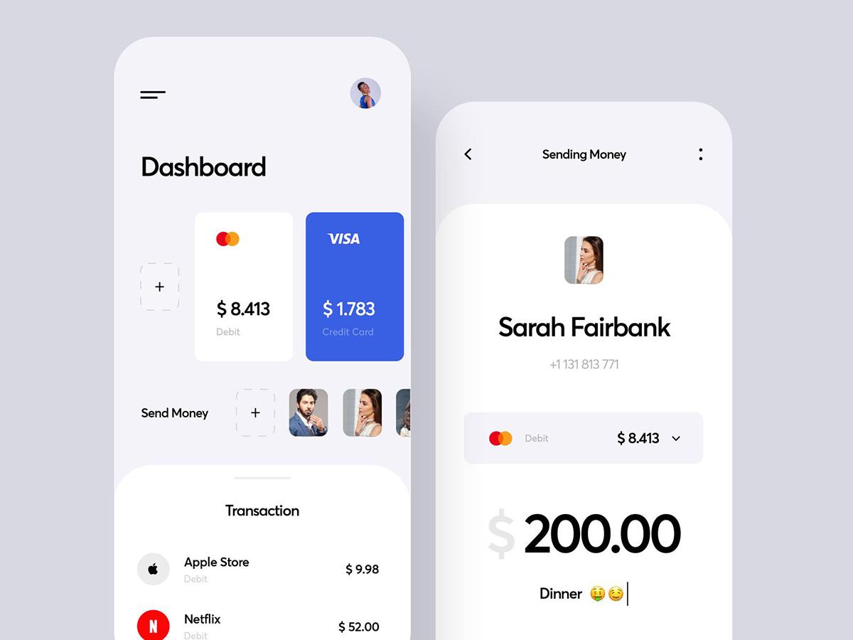 12组银行App界面设计灵感