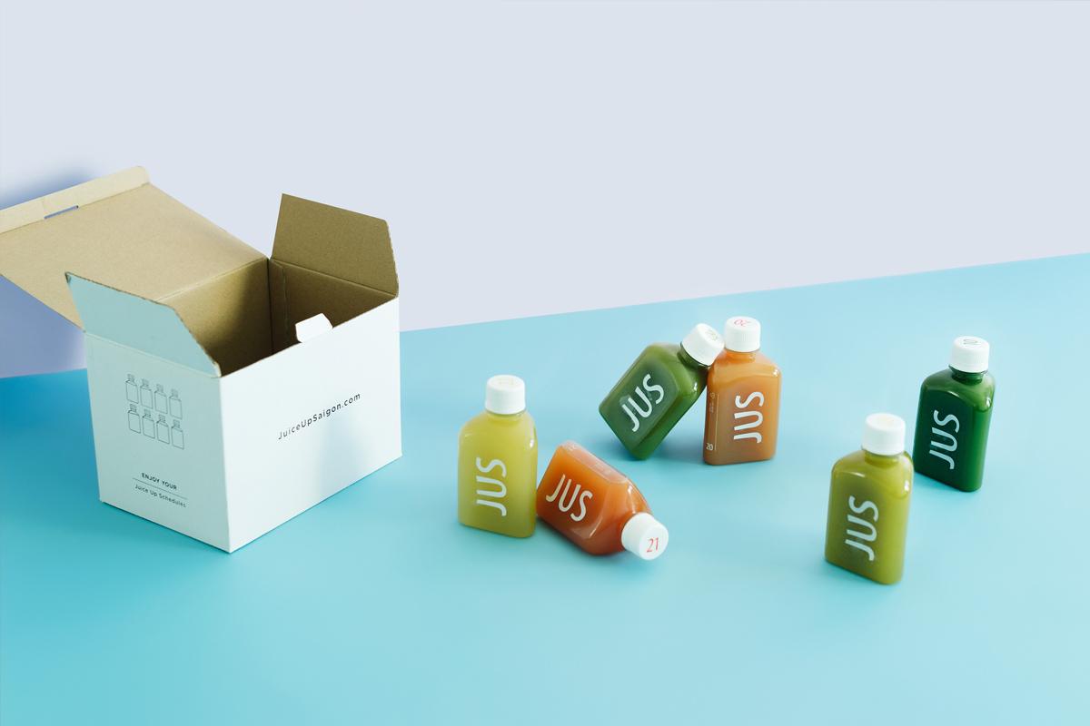 三角形!果汁包装设计
