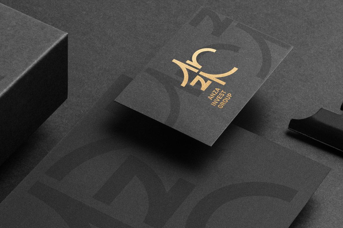 尊贵黑金!集团公司品牌VI设计