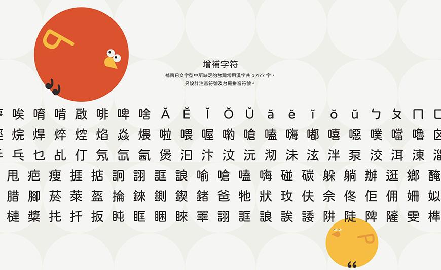 免费字体下载!可商用justfonnt开源圆体-Open粉圆字体