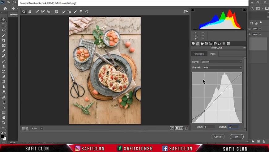 PS教程!小清新风格美食照片如何调色?(含素材下载)