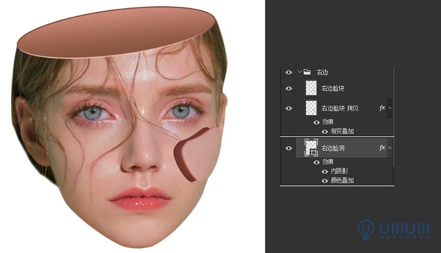 PS教程!脑洞大开的炫酷视觉系人物海报(含素材下载)