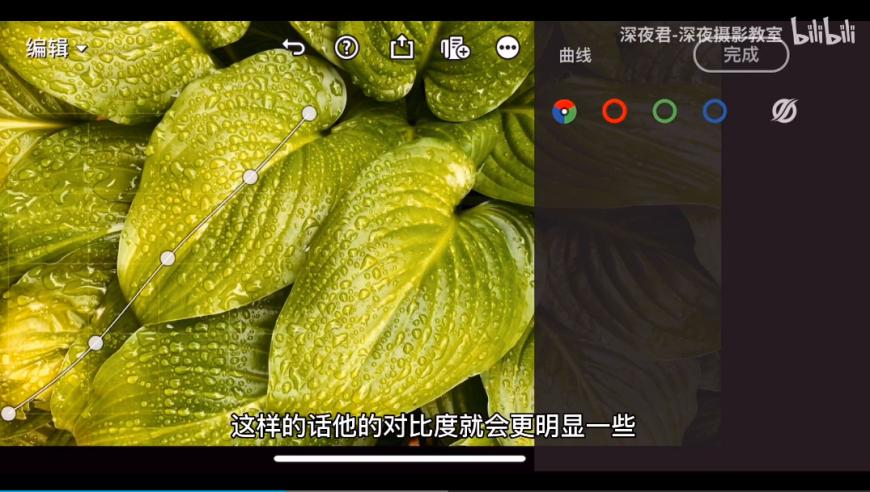 摄影后期!教你用手机调出层次分明的富士绿