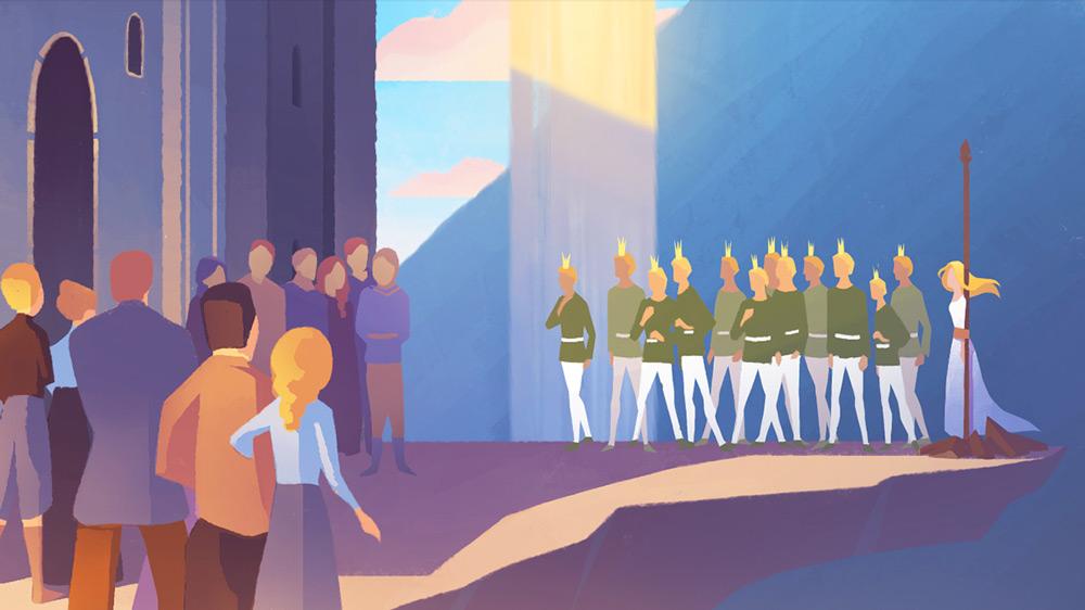 12款充满神秘主义的概念插画