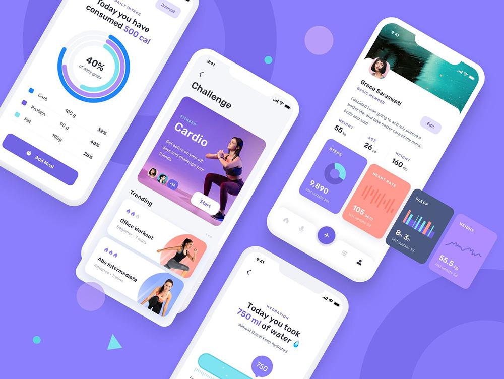 运动健身类App如何设计?