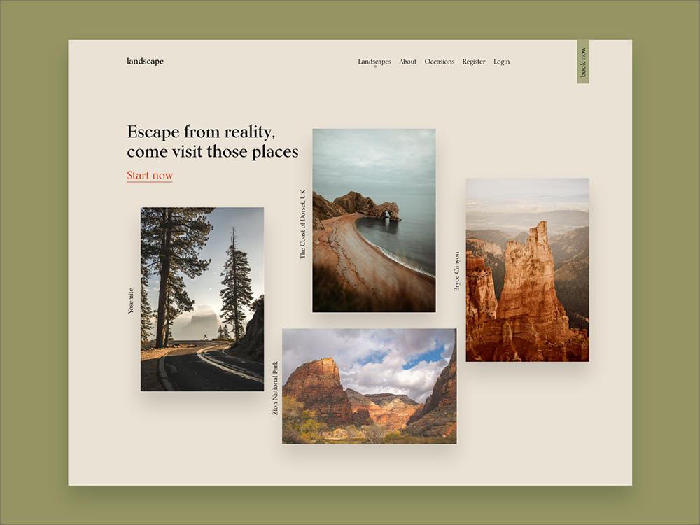 12个精彩的旅游网页案例