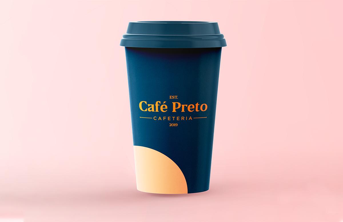 温暖氛围!咖啡品牌VI设计
