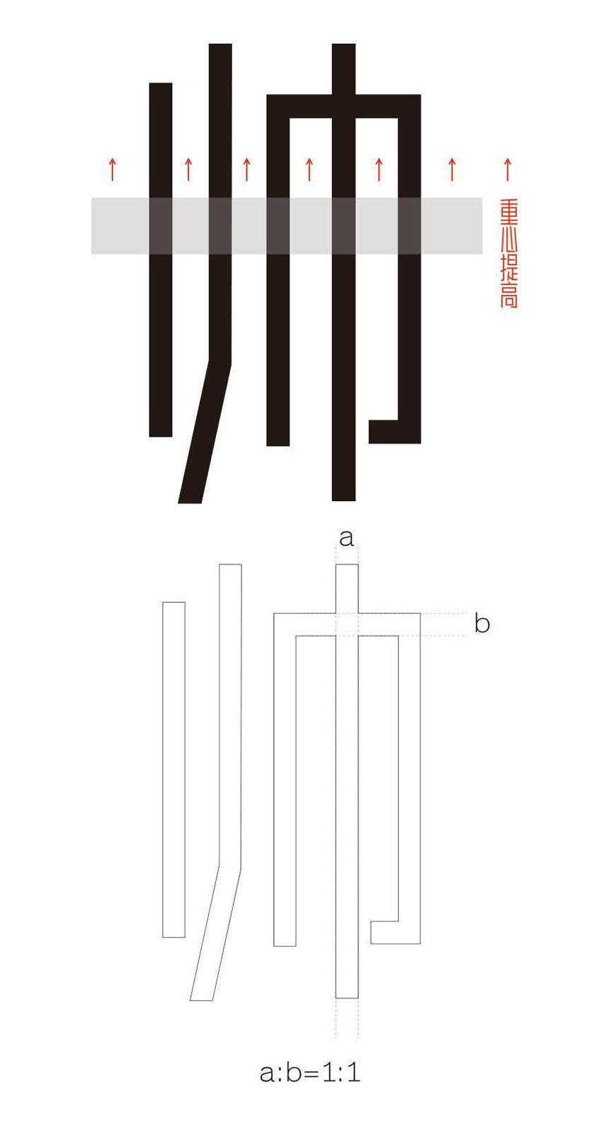 犀利硬朗的字体-胡晓波真帅体下载 免费可商用