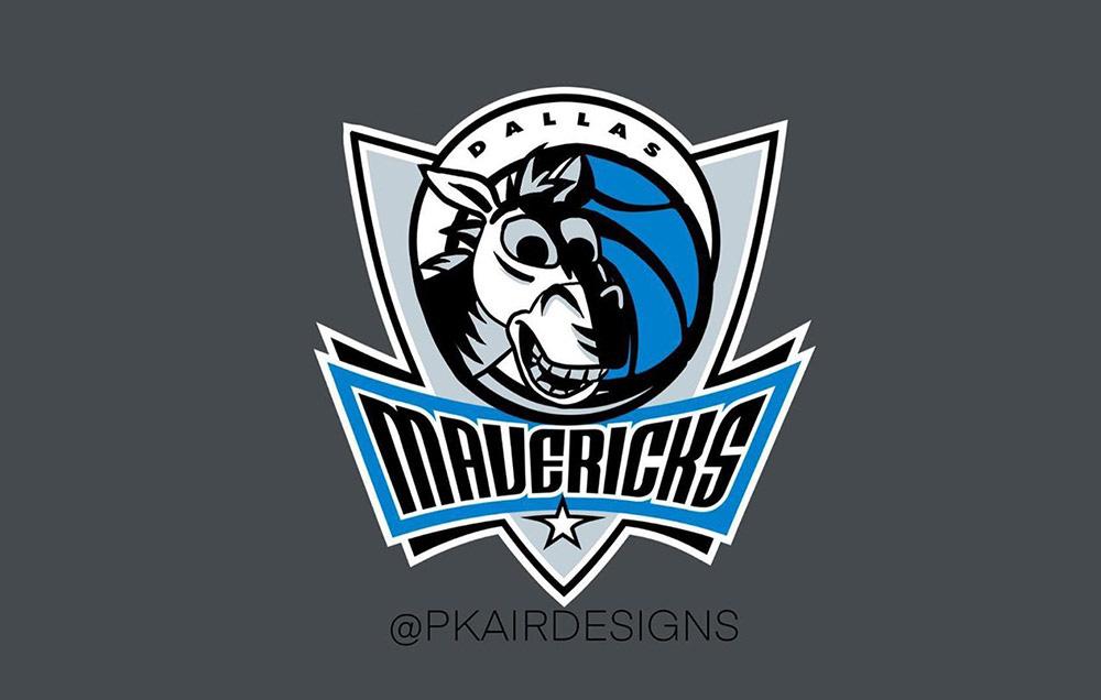 当NBA遇上迪士尼!16款可爱运动Logo设计