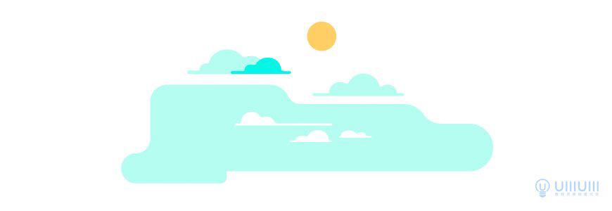AI教程!扁平风格野外风景插画!