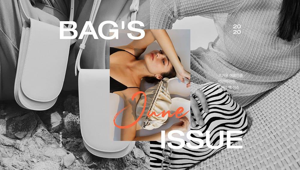 21个质感满满包包产品Banner设计!