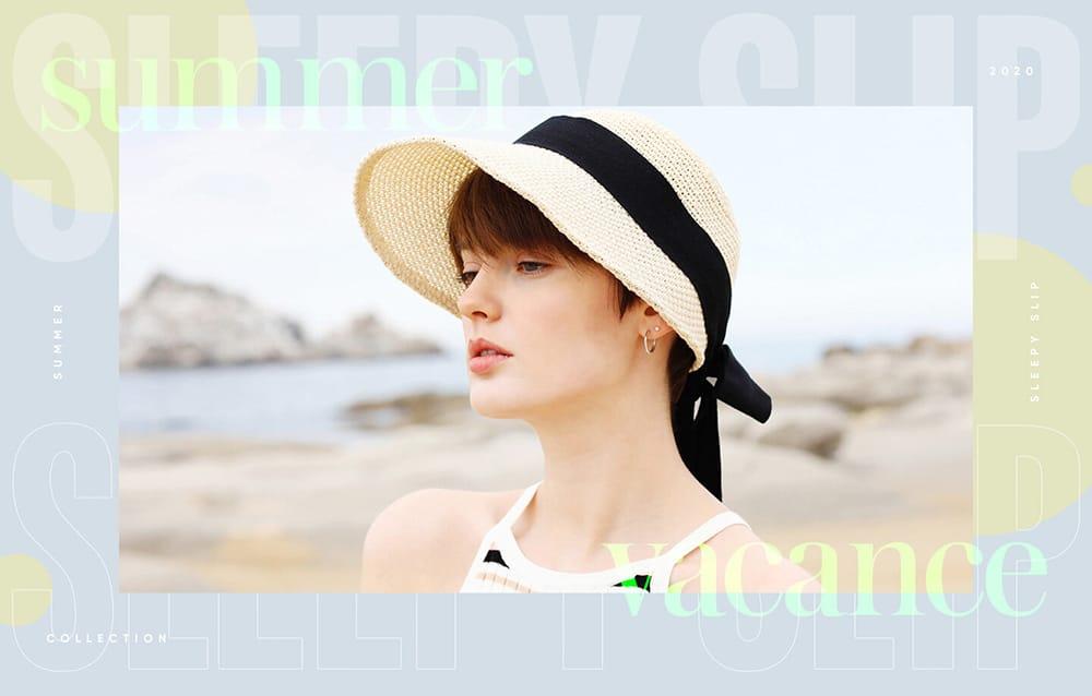 精致与优雅!21个韩式饰品Banner设计