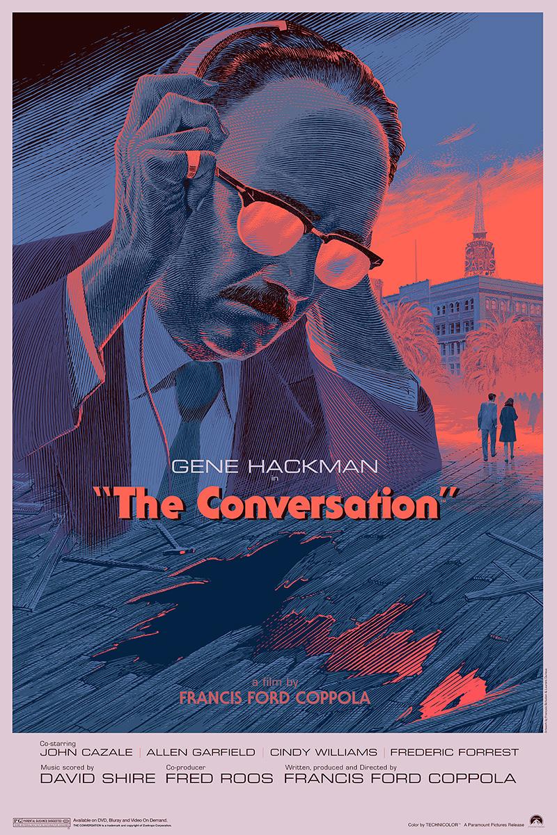 极具个人特色的插画电影海报
