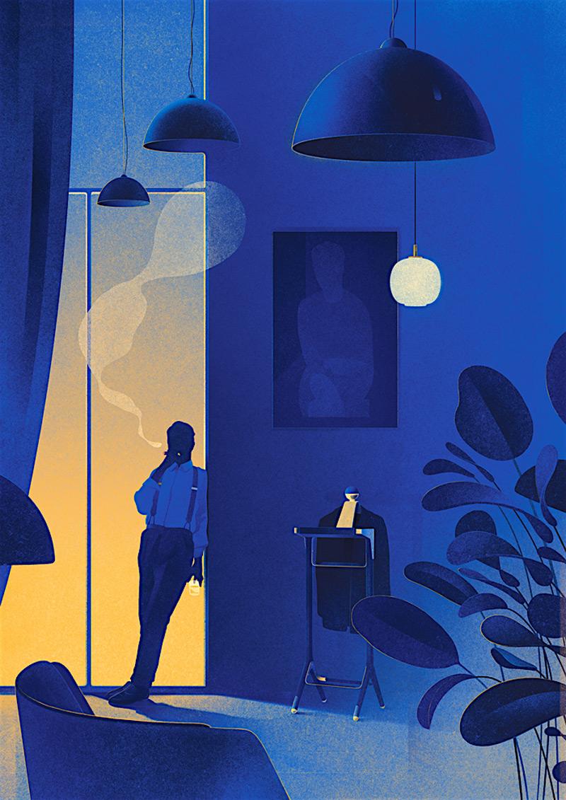 14款创意杂志插图