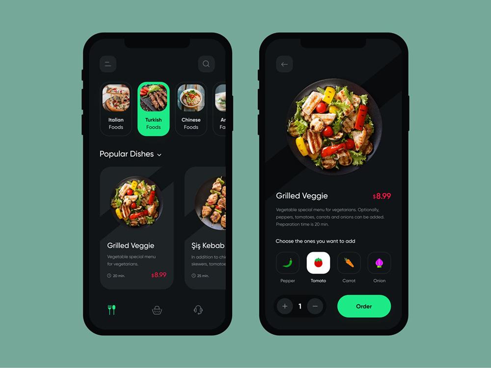 吃货必备!12款外卖App界面设计