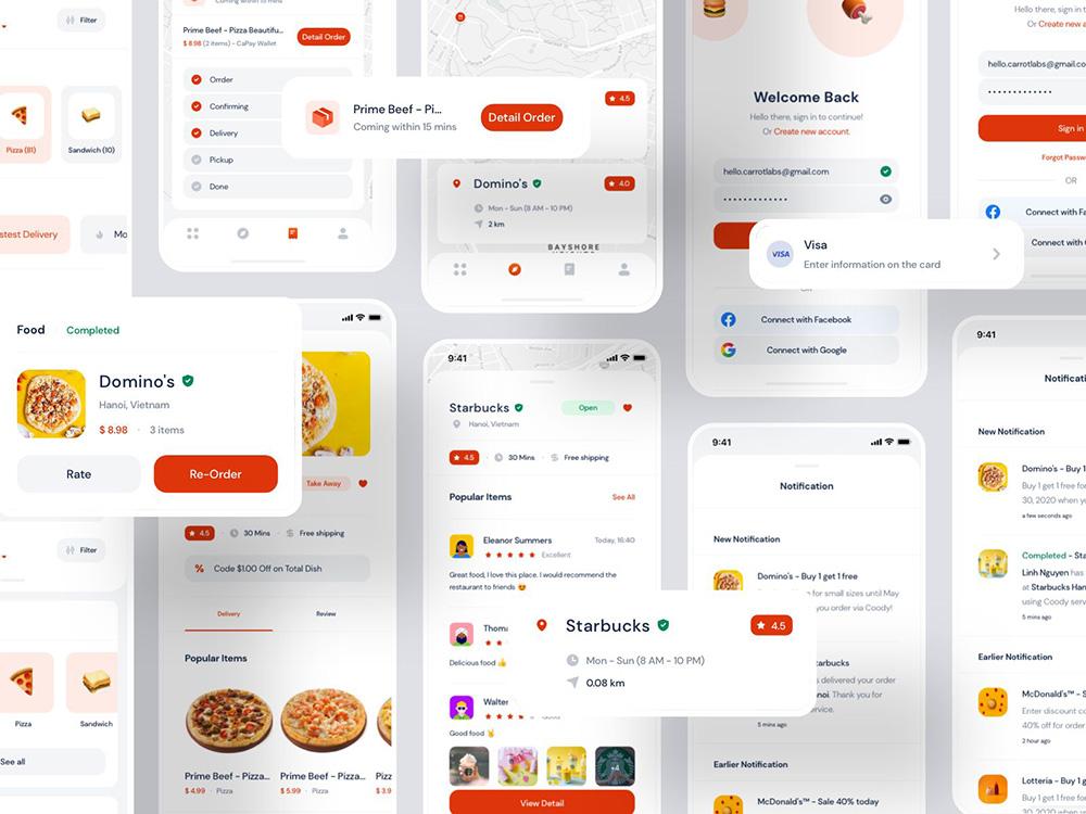 外卖类App要如何设计?
