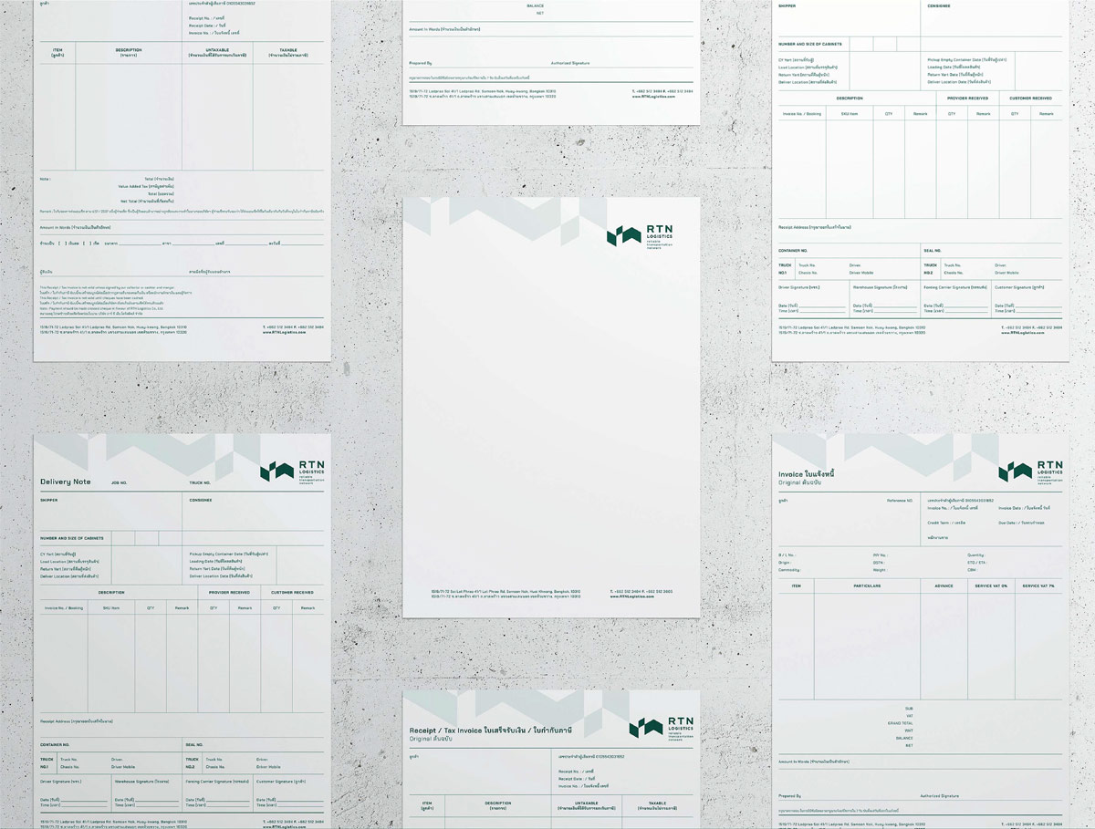 标志的多变性!物流企业品牌VI设计