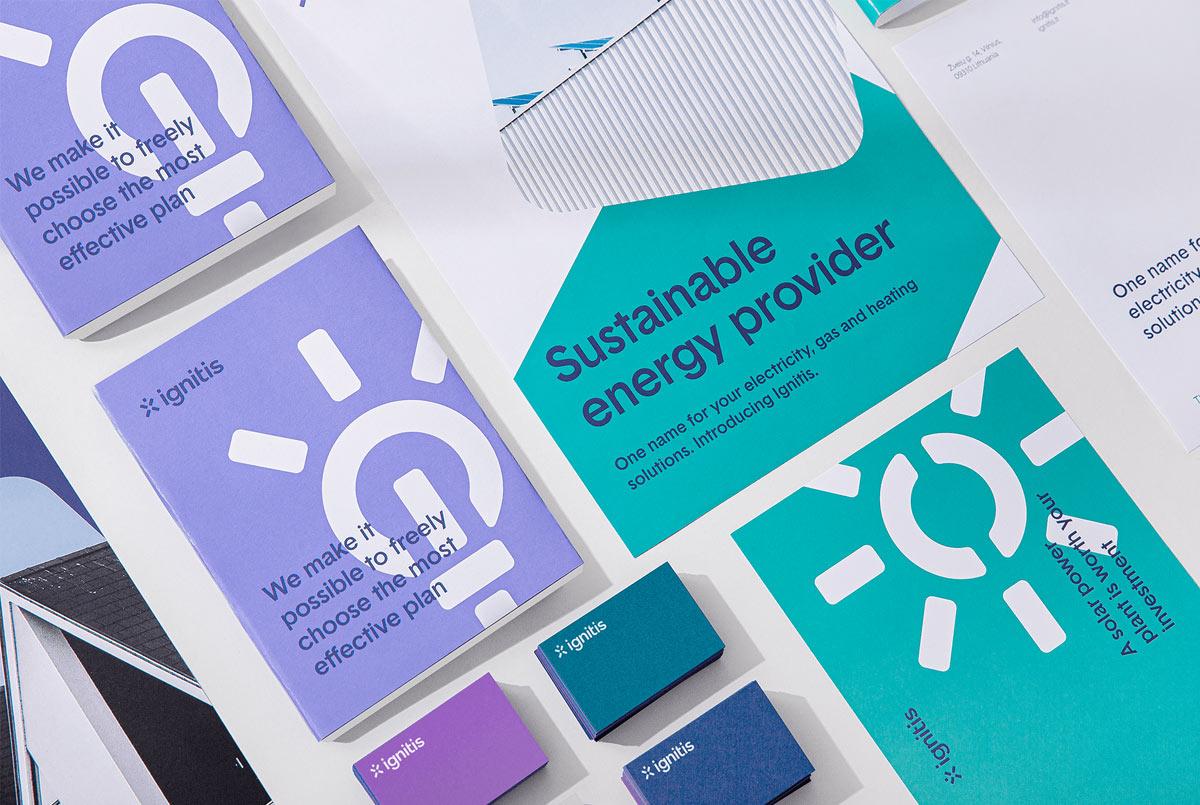 创新活力!能源公司品牌VI设计