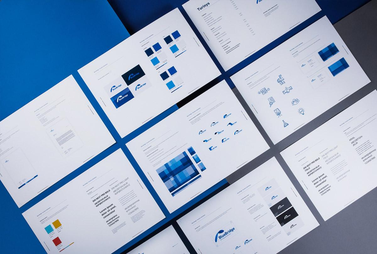 科技蓝!IT公司品牌VI设计
