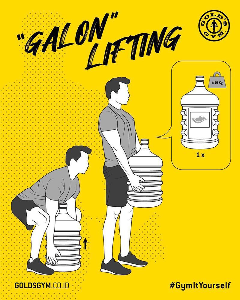 一起来运动吧!14张健身房Gold's Gym海报设计