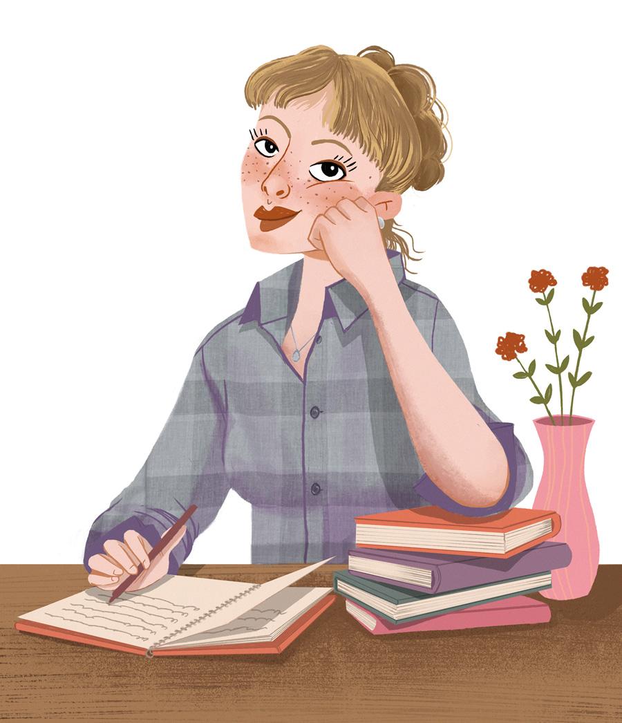 Eda Çağıl Çağlarırmak 的儿童读物插图