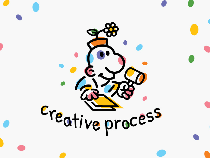 活力萌趣!20款可爱卡通Logo设计