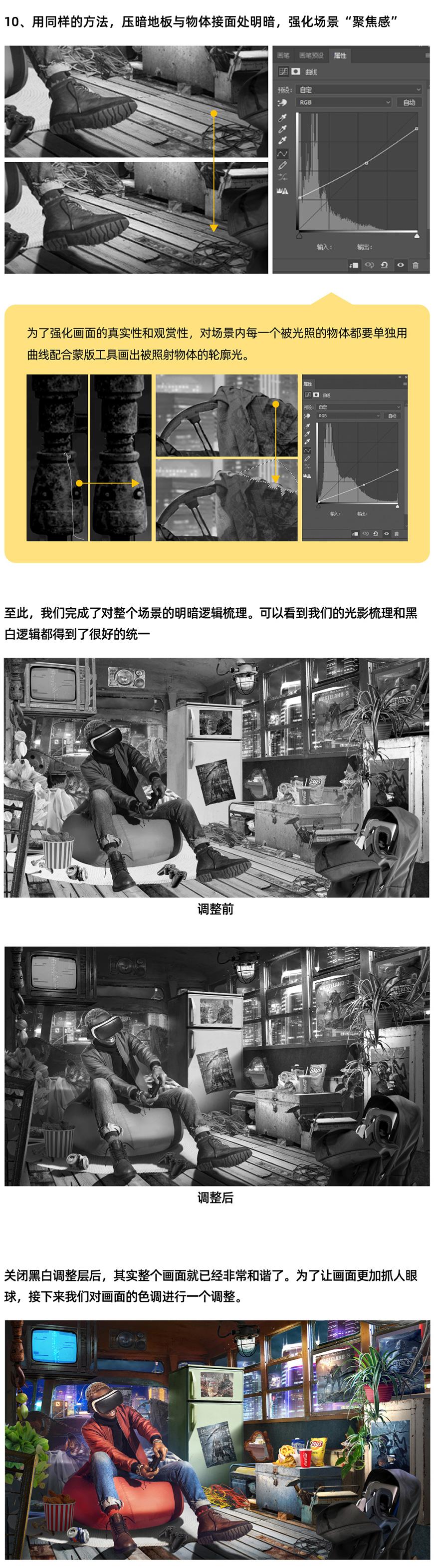 PS教程!赛博朋克商业合成海报!