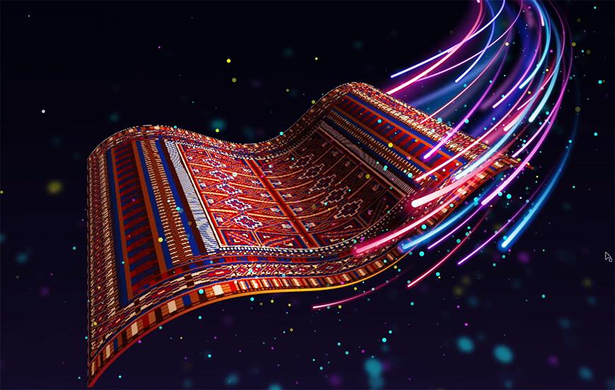 AI教程!手把手教你绘制印度飞毯!