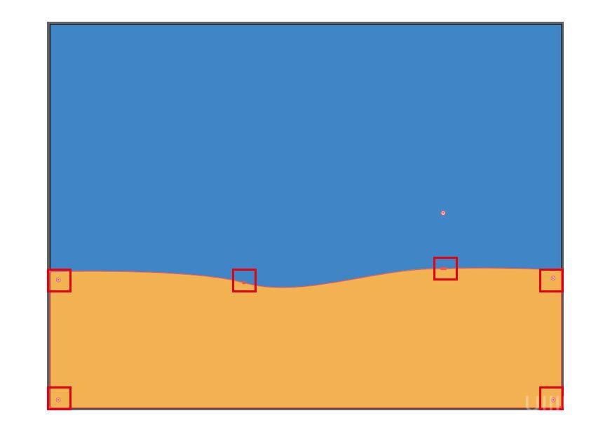 AI教程!扁平风噪点质感郊游插画