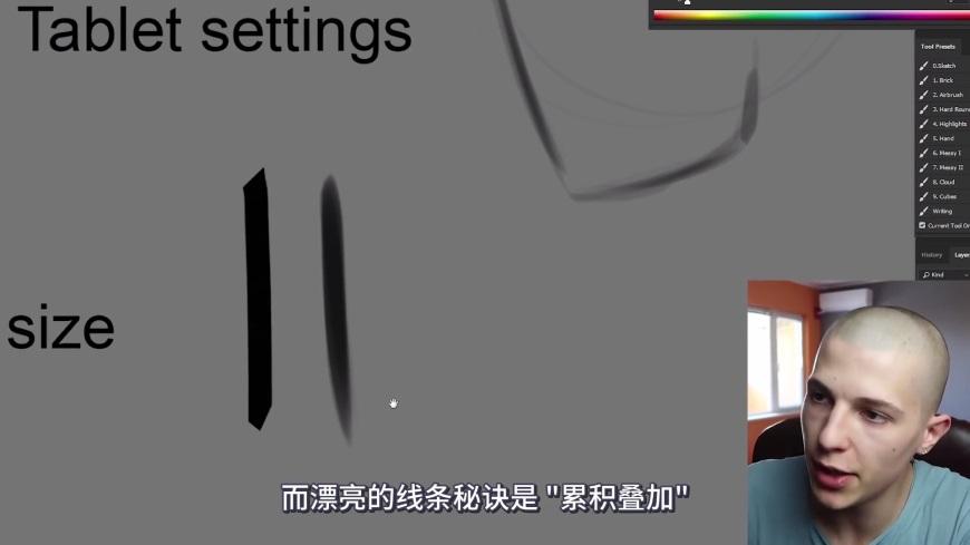 手绘讲解!如何快速提升线稿流畅度?