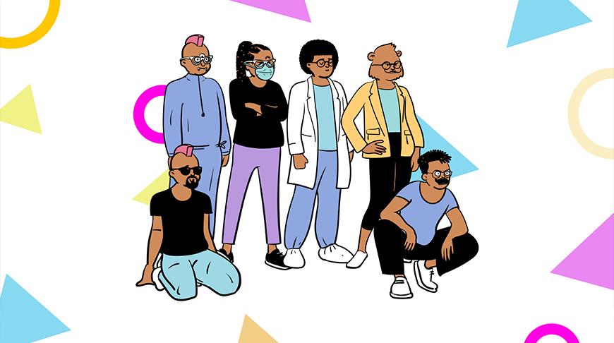 设计神器Open Peeps!在线生成50000+人物角色插画