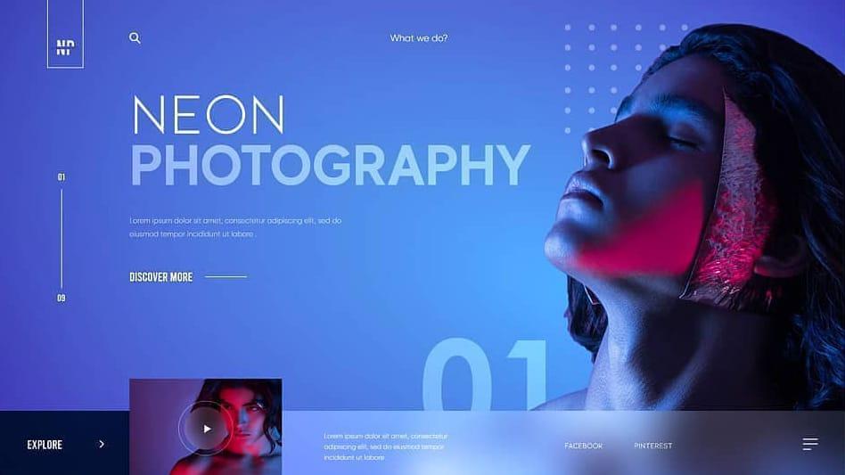 网页头图Banner的创意排版设计!