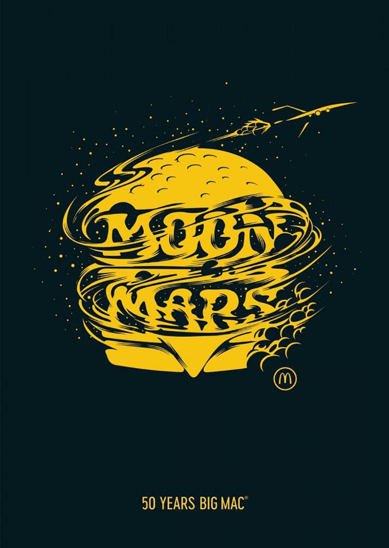 创意十足!麦当劳汉堡的14种不同形象