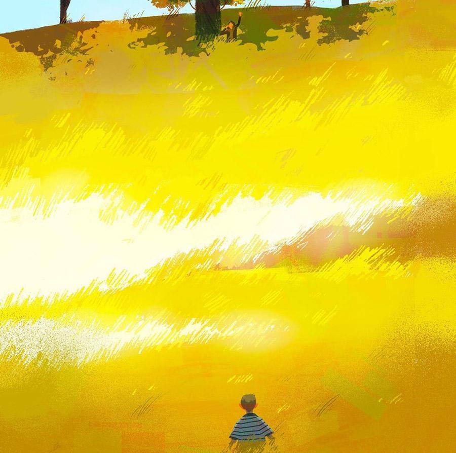 找个周末去旅行!9款卡通质感插图