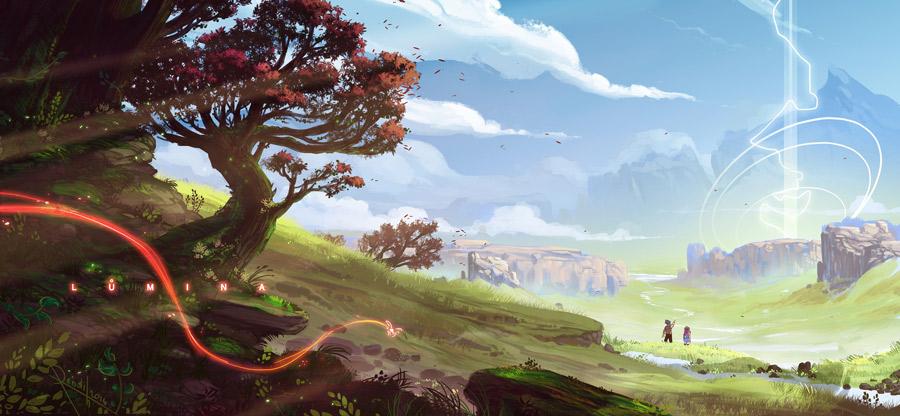 心动的感觉!14款环境概念艺术插图